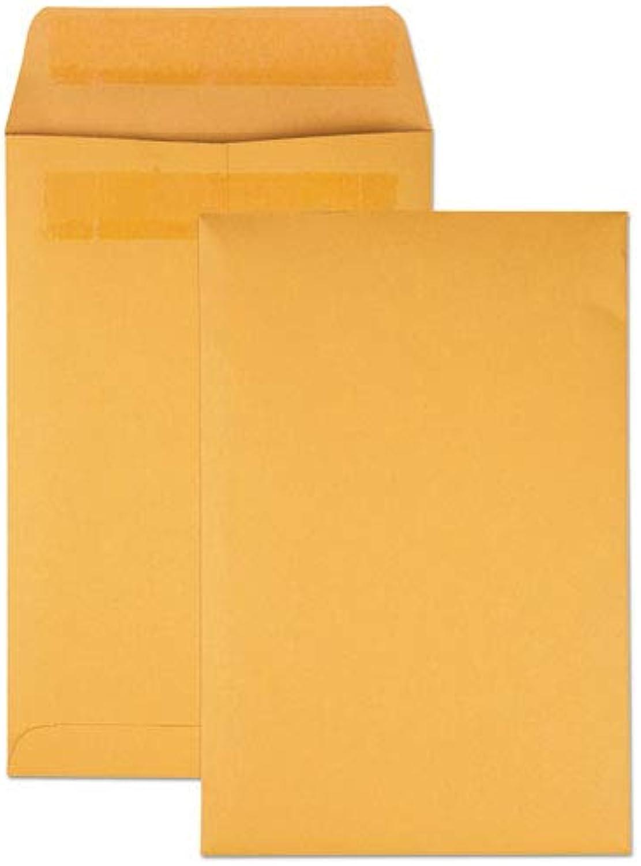 Quality Park roti-Seal Catalog Envelope 6 x 9 braun Kraft - Quality Park 43167 B00BT2WB64 | Einfach zu spielen, freies Leben