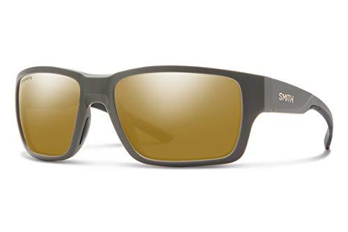 Smith Optics Sonnenbrillen OUTBACK MATTE GRAVY/CHROMAPOP POLARIZED BRONZE 59/18/130 Herren