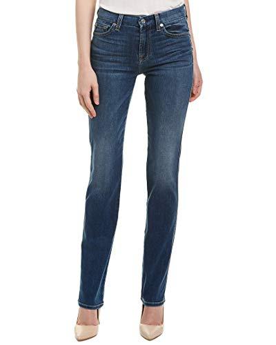 7 For All Mankind Women's Straght Leg Jean, Everly Light Sky, 23