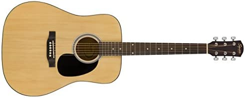 Squier by Fender SA 150 Squier Beginner Dreadnought Acoustic Guitar Natural Finish product image
