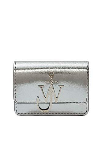 JW ANDERSON Tasche Anchor Logo Silber Einheitsgröße