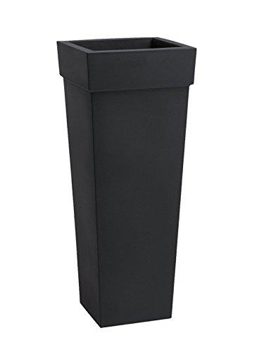 Nicoli R2640P Evolution Matt stampaggio rotazionale Geryon Vaso, Antracite, 40x 40x 100cm