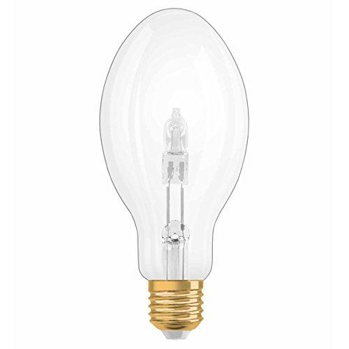 Osram Vintage Edition 1906 Ampoule Halogène à Filament - Culot E27 - Forme Ovale Transparent - Dimmable - Blanc Chaud 2700K - 20W
