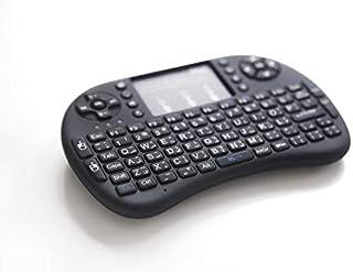 لوحة مفاتيح عربي وانجليزي مع فأرة باللمس، إضائة خلفية للمفاتيح للحاسوب وتلفزيون اندرويد والماك