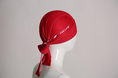 ShopINess Bandana Cap - Kopftuch - Bikertuch by (Rot) - 6