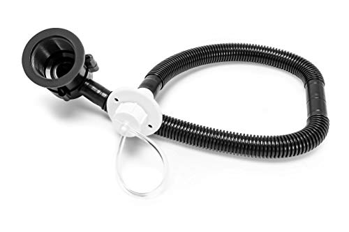Camco Flexible Camper Drain Tap with Hose System for RVs Campers and Trailers, Easy Connection and Set Up (37420)