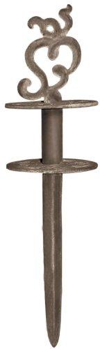 Esschert W8402 Design, Halter (Pflock) für Schlauch-Antik, Gusseisen, 21 x 11 x 6 cm