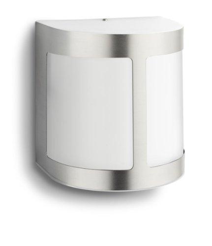 Philips Luminaire Extérieur Applique Murale Parrot LED Intégrée Inox