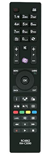 ALLIMITY RC4862 Mando a Distancia reemplazado por Hitachi TV HBC06 22HYC06 24HBC05A 24HXC05 24HYC05 28HYC05 32HB6T41 32HBC01...