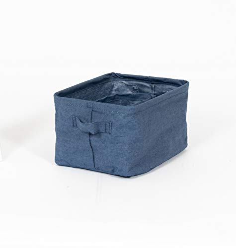 Compactor Set 3 cestas soft, Color vaquero, Tamaño, 11 x 11 x 11 cm, / 19 x 10.5 x 12 cm / 25 x 15 x 20 cm, RAN9087