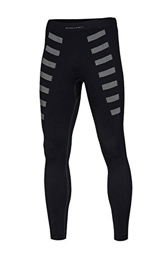 BodyDry Extreme Sous-pantalon de sport thermique respirant Noir/Gris m