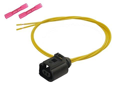 Stecker 2-pol Reparatursatz Buchse konfektioniert Elektrik OEM 1J0 973 702 1J0973702