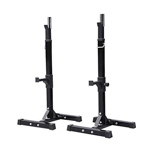 WXJZ Rack da Squat Regolabile Multifunzione Palestra Manubri Supporto da Bodybuilding Allenamento della Forza Rack Pesistica per Lo Squat Robusto Resistenti