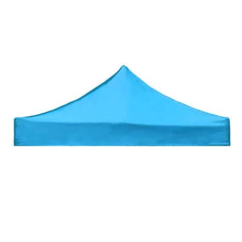 Baoblaze Abri de Parasol Tente de Camping Couverture Camping Randonée Extérieur - Bleu Ciel, 3x3m