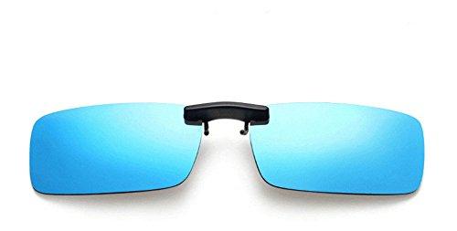 TININNA 1pc polarizadas lente Gafas Gafas de sol clip de metal gafas...