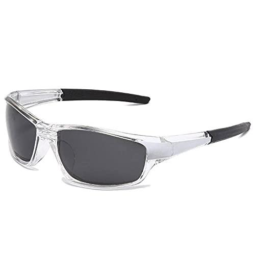 N\C Gafas de sol polarizadas de los hombres y las mujeres de los deportes que hacen ciclismo, correr, gafas