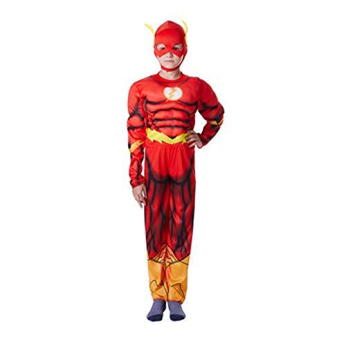 Adult Kids Superhelden Flash kostuum Spiderman pak 110-120cm