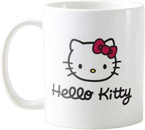 Adorable Hello Kitty Taza de café con personaje de anime japonés -...