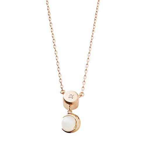 ハワイアン 遺骨ペンダント メモリアルペンダント ムーンストーン ピンクゴールド ダイヤモンド