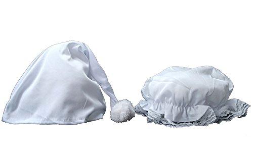 FLAIRELLE® Hochzeitsspiel Schleiertanz - Haube und Zipfelmütze mit Gedicht für den Schleiertanz zur Hochzeit