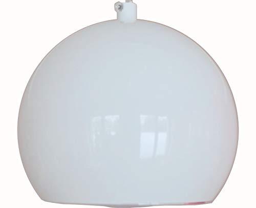 Hängelampe Hängeleuchte Pendellampe Beleuchtung Lampe Leuchte für Innen Indoor Wohnzimmer Kugel Rund Dimmbar Schlafzimmer Metall Tageslicht LED YY-1 (Weiß)