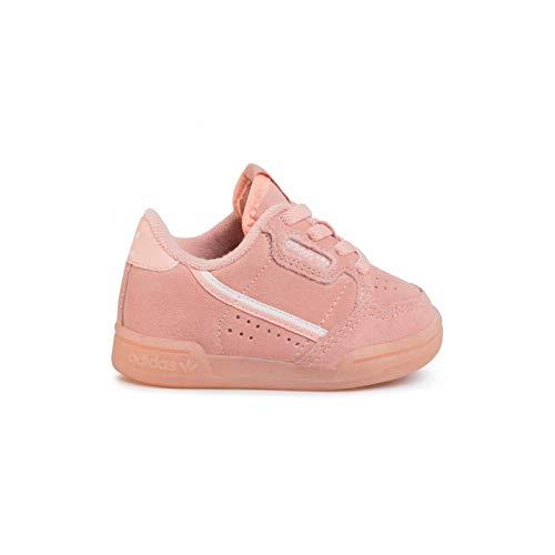 adidas - Zapatillas de baloncesto Continental 80 EL I Bébé, Rosa (rosa), 22 EU