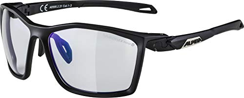 ALPINA Unisex - Erwachsene, TWIST FIVE V Sportbrille, black matt, One Size