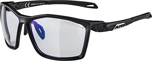 ALPINA TWIST FIVE VLM+ Sportbrille, Unisex– Erwachsene, black matt, one size