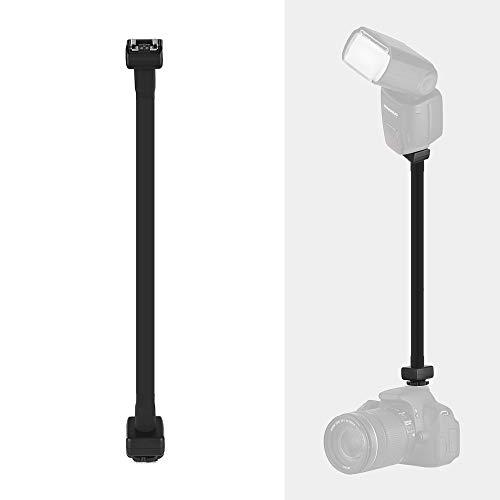 Andoer Flexible E-TTL Hot Shoe Extension Shelf Rod Flash Light Speedlite Bracket for Canon EOS DSLR Cameras