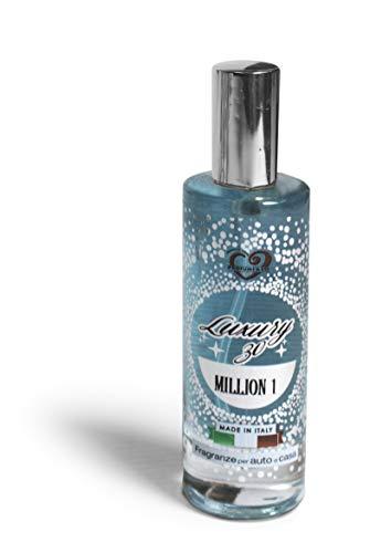 Profumi & Co–Profumo Auto Spray Luxury 30-L unico Ispirato ai Profumi Personali più Famosi- Deodorante Ambiente Casa, Lavoro–Elimina Cattivi Odori-30 millilitri Made in Italy (MILLION 1)