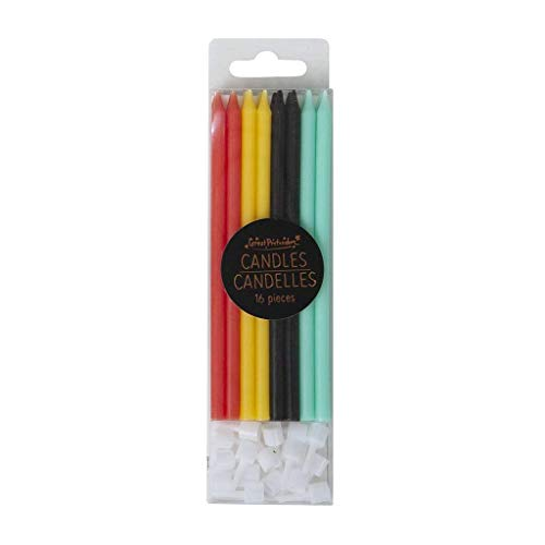 Great pretenders 97706 Candles Multicoloured Superhero, Red (red)