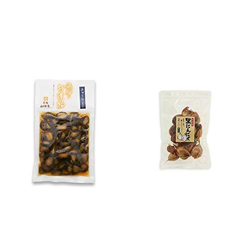 [2点セット] 飛騨山味屋 きゅうり醤油漬(150g) ・熟成発酵 黒にんにく(120g)