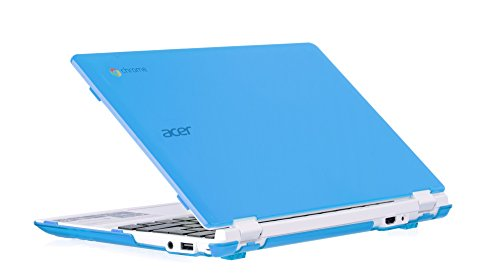 iPearl mCover Hard Shell Case for New 2016 11.6' Acer Chromebook 11 CB3-131 Series with IPS HD Display (NOT Compatible with Older Acer CB3-111 Series) Laptop (Aqua)
