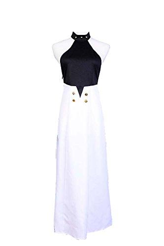 Fuman Seraph of The End Asuramaru Cosplay Kostüm Karneval Kostüm Für Erwachsene Damen Weiß L
