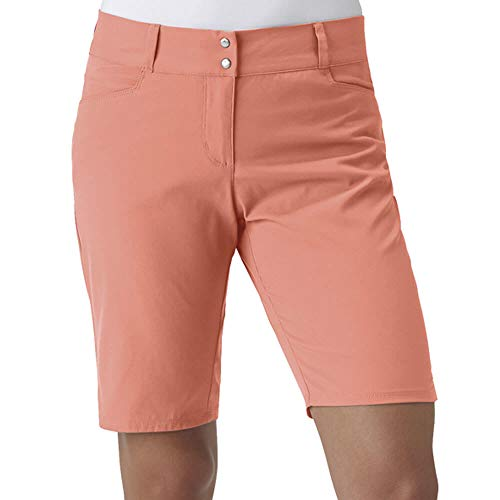 Adidas Essentials leichte Bermuda Golf Shorts 2018 Damen Chalk Coral 4