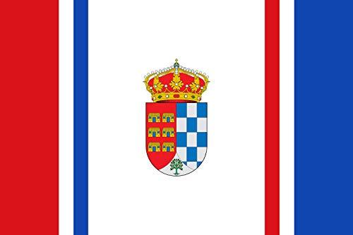 magFlags Bandera Large Casares de Las Hurdes Bandera Rectangular de Proporciones 2 3 cuarta Vertical   Bandera Paisaje   1.35m²   90x150cm