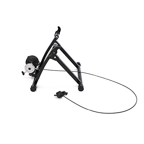 Cablematic - Rodillo de entrenamiento para bicicleta con resistencia ajustable y marchas spinning