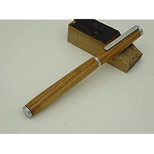 Füller Eiche von einem Whisky Fass, Holz handgedrechselt, Unikat