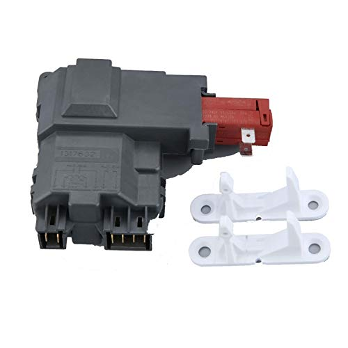 Akatsukiqi Cerradura de la puerta 1pc Lavadora Interruptor 131763202 131763310 El delantero en forma for Electrolux Lavadora Frigidaire