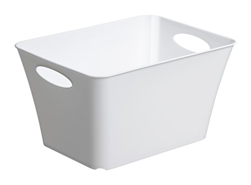 Rotho Living Aufbewahrungs-Box, Kunststoff (PP), weiss, 11 l