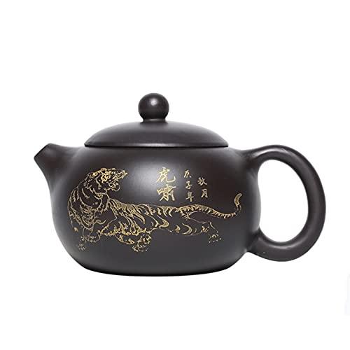 ZHNINGUR 210ml Yixing Purple Clay Teapots Classic Xishi Tea Pot Beauty Kettle Master Handmade Zisha Tea Set Gifts
