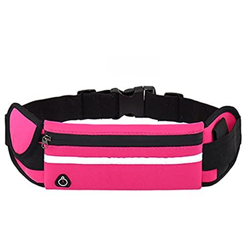 MJJCY Cinturón de la Bolsa de la Bolsa de la Bolsa Bolsa de la Cintura Paquete de Entrenamiento Fanny Pack Cinturón de Bolsillo Pocket Cinturón Tenedor de teléfono Celular para Fitness Yoga
