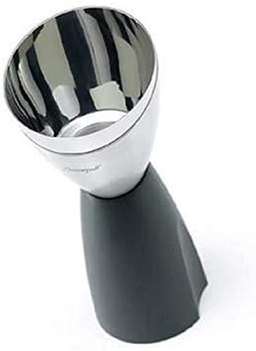 LE CREUSET WA118 Decantador de Vino con Filtro, Gris y Negro