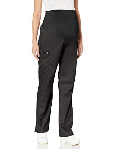 WonderWink Women's Wonderwork Maternity Pant, Black, covid 19 (Coat Top Pants coronavirus)
