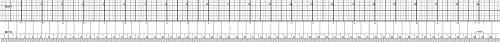 Westcott English/Metric Ruler, 61cm, trasparente (b-97)