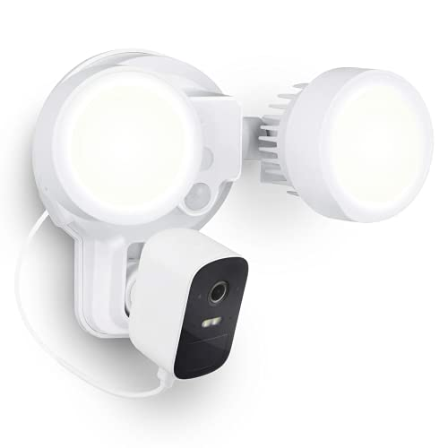 Wasserstein 3-in-1 Floodlight, Charger and Mount Compatible with EufyCam 2C & EufyCam 2C Pro - Turn Your Eufy Camera into a Powerful Floodlight (White) (EufyCam 2C/2C Pro NOT Included)