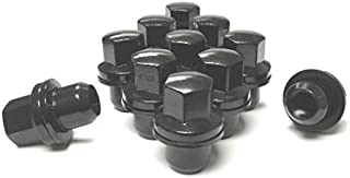 AVN Motorsports (20) Black Range Rover Lug Nuts Fits Factory Replacement OEM Wheels Rims 14x1.5 Thread Pitch 06+