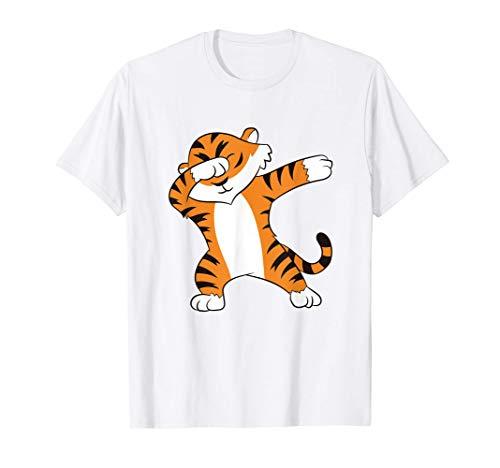 Tiger Dabbing Tiger Love Tigers Camiseta