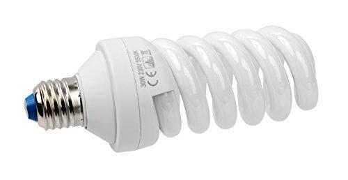 Bresser F000154 Spiral Tageslichtlampe (E27/30 Watt)