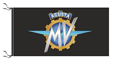 MV Agusta Flagge Schwarz